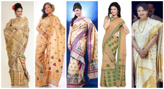 Asam Style Saree Draping